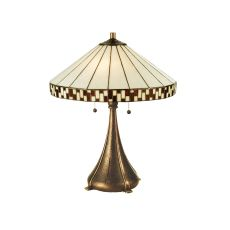 """22"""" H Checkerboard Table Lamp"""