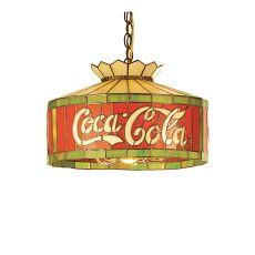 """16"""" W Coca-Cola Pendant"""
