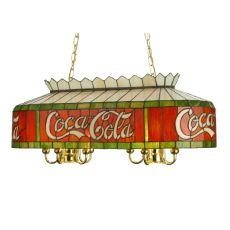 "32"" L Coca-Cola Oblong Pendant"
