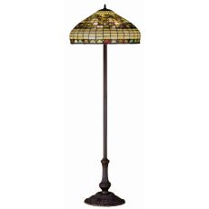 "63"" H Tiffany Edwardian Floor Lamp"