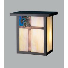 """8"""" W Hyde Park Sprig Wall Sconce"""