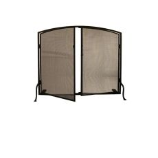 """40"""" W X 32"""" H Prime Arched Fireplace Screen"""