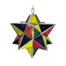 "18"" W Moravian Star Pendant"