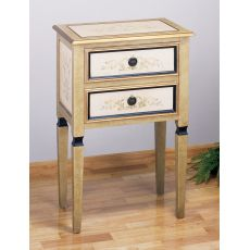 """15X24X36"""" H Scroll 2 Drawer Occas. Table"""