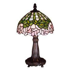 """13"""" H Cabbage Rose Mini Lamp"""