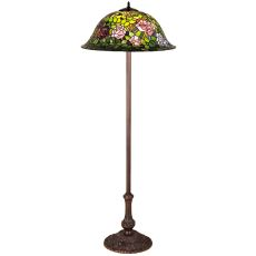 "63"" H Tiffany Rosebush Floor Lamp"