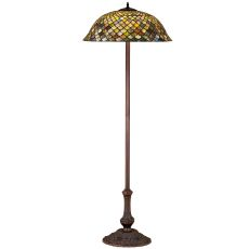 "63"" H Tiffany Fishscale Floor Lamp"