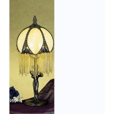 """15"""" H Alicia Fringed Mini Lamp"""
