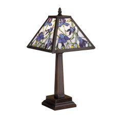 "19"" H Mosaic Iris Accent Lamp"