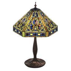 "24"" H Tiffany Elizabethan Table Lamp"