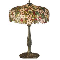 "23"" H Tiffany Cherry Blossom Table Lamp"
