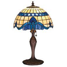 "18.5"" H Baroque Accent Lamp"