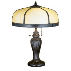 """25"""" H Arts & Crafts Dome Table Lamp"""