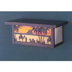 """11"""" W Camel Wall Sconce"""