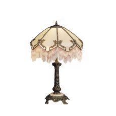 "28.5"" H Regina Fringed Table Lamp"
