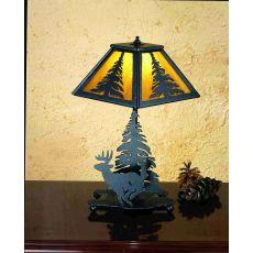 """14"""" H Lone Deer Accent Lamp"""