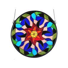 """18""""  X 18""""  Jeff Cohen Mandala Design"""