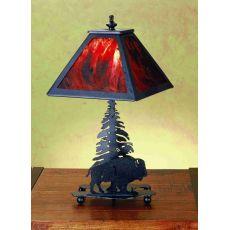 """15.5"""" H Buffalo Accent Lamp"""