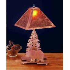 "21"" H Lone Bear Table Lamp"