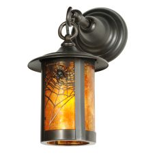 """7"""" W Fulton Spider Web Hanging Wall Sconce"""