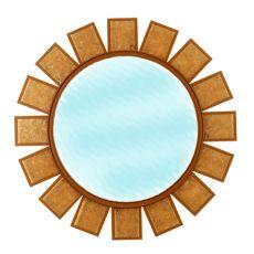 """36"""" W Sol Mirror"""