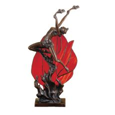 "17.5"" H Flame Dancer Accent Lamp"