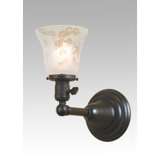 """5"""" W Revival Chelsea Wreath & Garland Wall Sconce"""