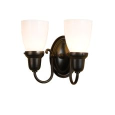"10"" W Saratoga Goblet 2 LT Wall Sconce"