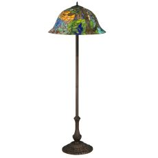 "63"" H Tiffany Landscape Floor Lamp"