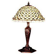 "22"" H Diamond & Jewel Table Lamp"