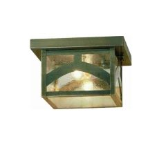"10"" Sq Hyde Park Hill Top Flushmount"