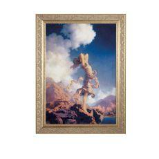 "22"" W X 29"" H Maxfield Parrish Ecstacy Framed Art"