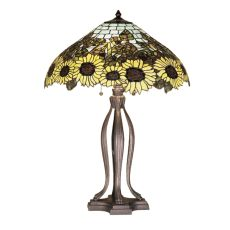 "30"" H Wild Sunflower Table Lamp"