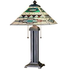 """24"""" H Valencia Mission Table Lamp"""