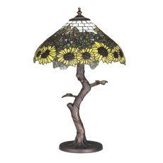 "23.5"" H Wild Sunflower Table Lamp"