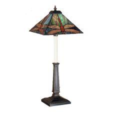"""24.5"""" H Prairie Dragonfly Buffet Lamp"""