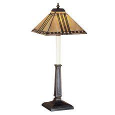 """24.5"""" H Prairie Corn Buffet Lamp"""