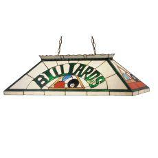 "39"" L Billiard & Rack Oblong Pendant"