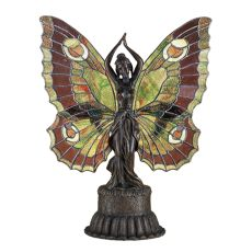 """17"""" H Butterfly Lady Accent Lamp"""