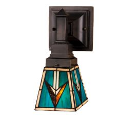 """5"""" W Valencia Mission Wall Sconce"""