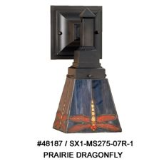 "5"" W Prairie Dragonfly Wall Sconce"