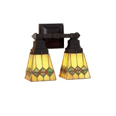 """5"""" W Martini Mission Wall Sconce"""