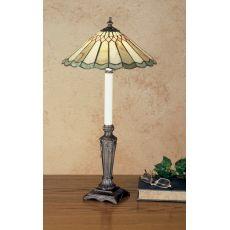 """28"""" H Carousel Jadestone Buffet Lamp"""