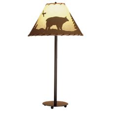 "29"" H Bear In The Woods Table Lamp"