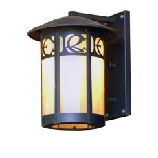 """12"""" W Fulton Personalized Monogram Solid Mount Wall Sconce"""