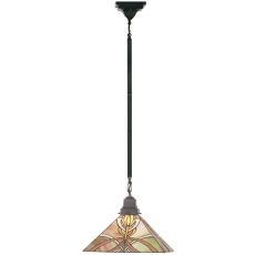 "13"" Sq Glasgow Bungalow Pendant"