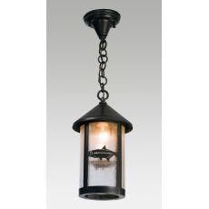 """8"""" W Tarpon Fulton Hanging Lantern Pendant"""