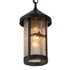"""8"""" W Bonefish Fulton Hanging Lantern Pendant"""