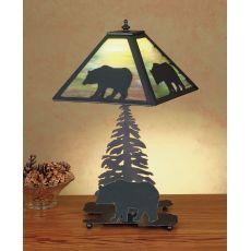 "15.5"" H Lone Bear Accent Lamp"