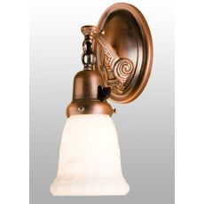 """4.5"""" W Mansfield Floral Wreath Wall Sconce"""